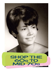 Shop Vintage Clothing from the Mid 60s to Mid 70s