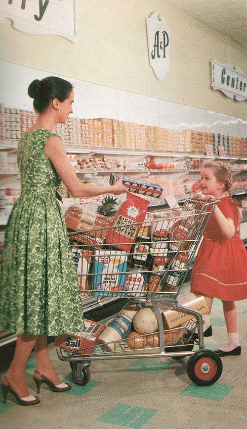 Grocery-Mother-Daughter