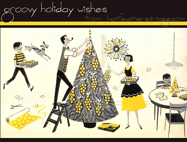 groovy holiday wishes sm