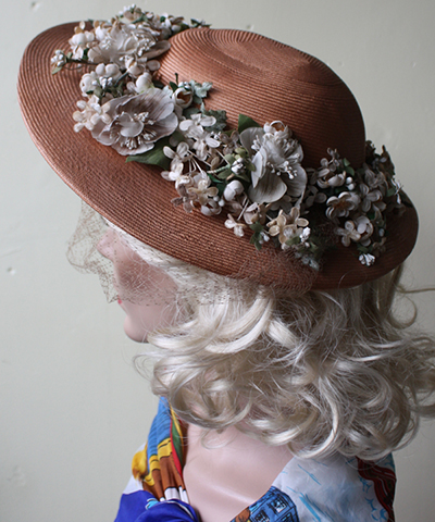 Floral-Wide-Brim-Hat
