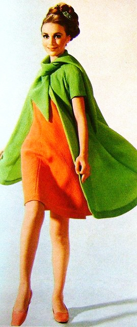 Givenchy-Orange-Green-Summer-Dress