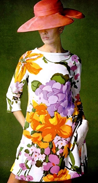 Lanvin-Print-Dress-60s