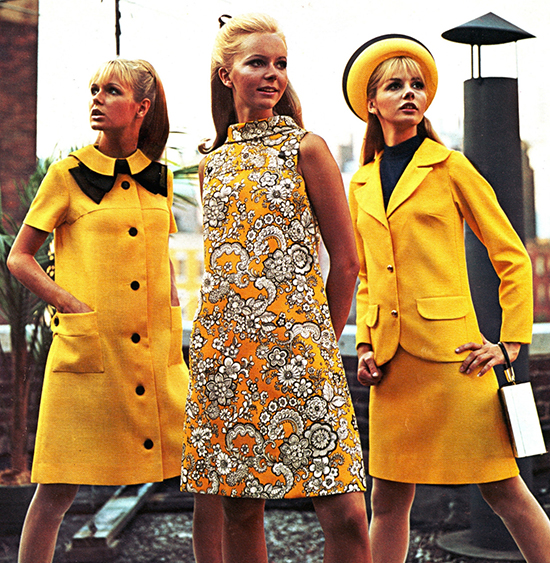 Yellow-Spring-Vintage-Dresses